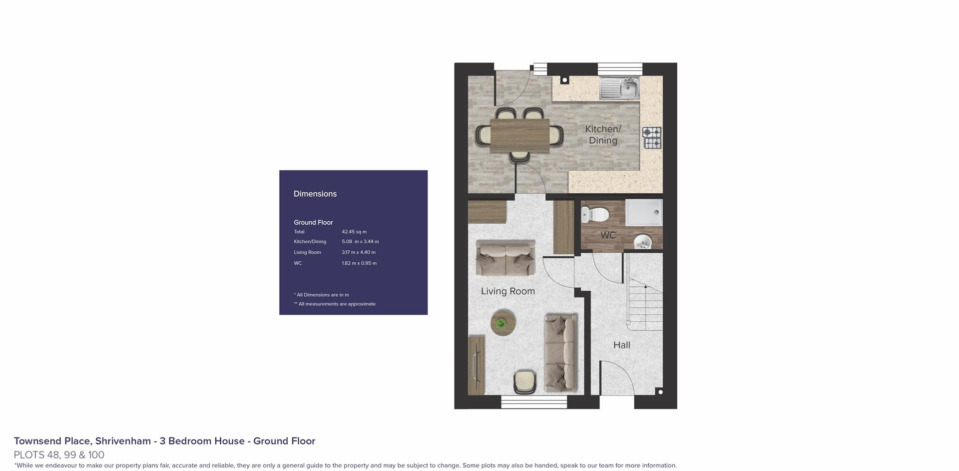 Townsend Place, Shrivenham_Plots 48, 99 & 100_GF_B